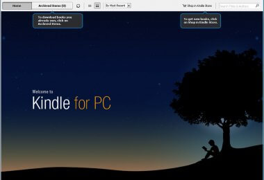Kindle for PC latest version
