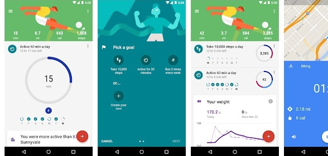 Google Fit-Fitness Tracking