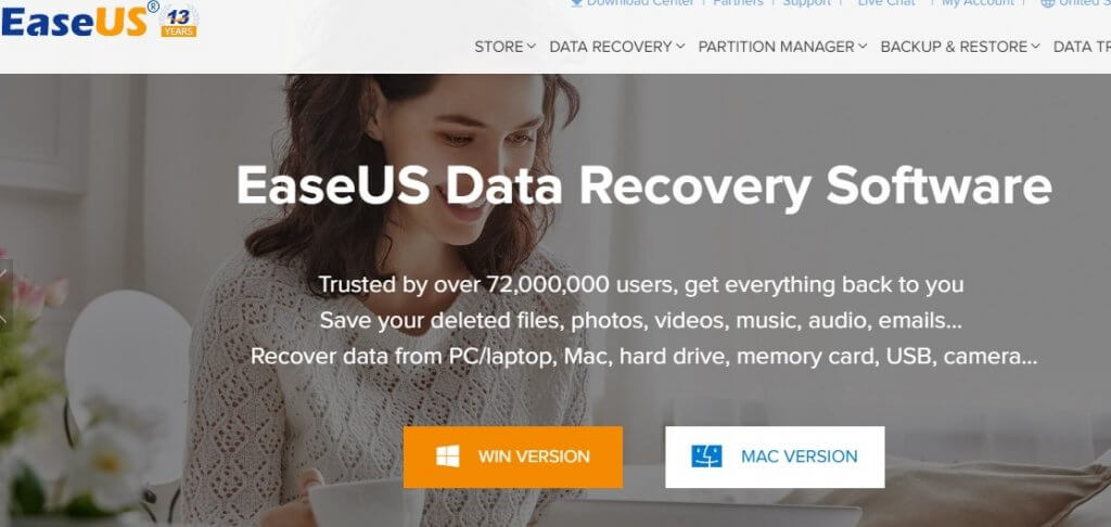 EaseUS is by far the Best Free Data Recovery Software You