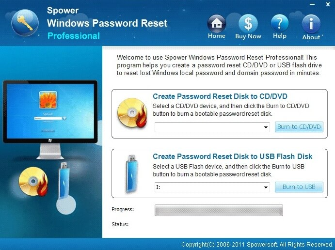 Spower Password Recovery Tool Ultimate
