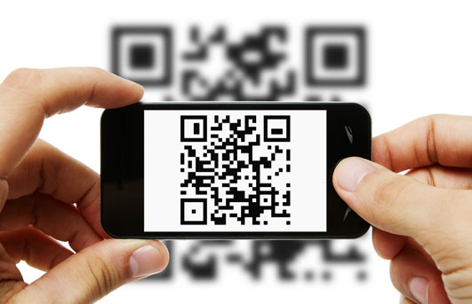 Scan QR codes using default camera app
