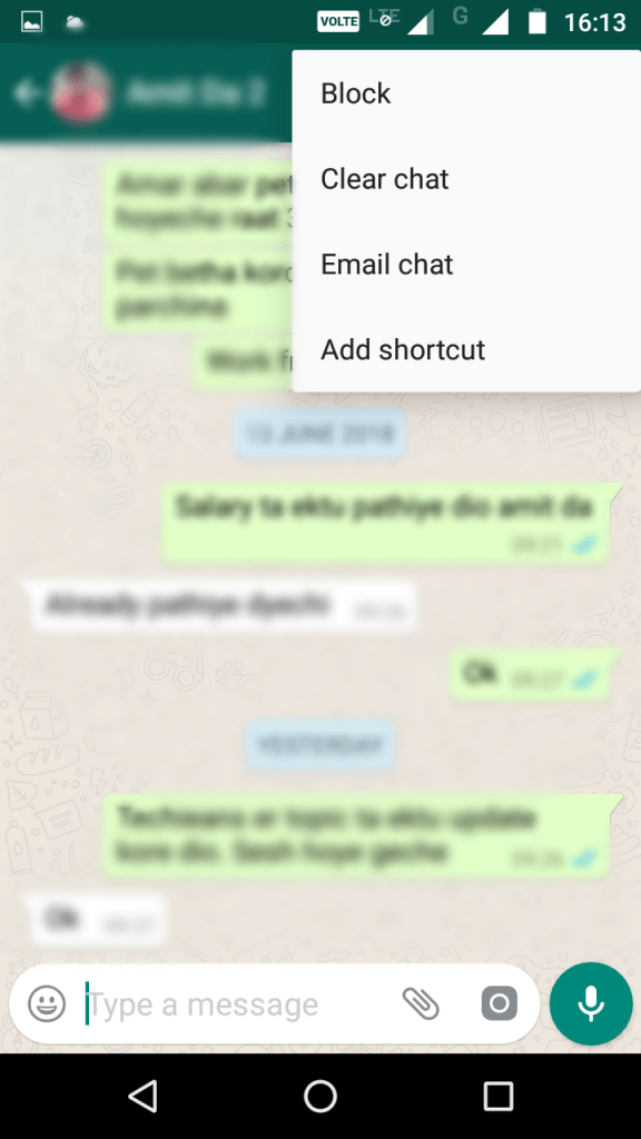 Add Shortcuts to Specific Chats on the Home Screen