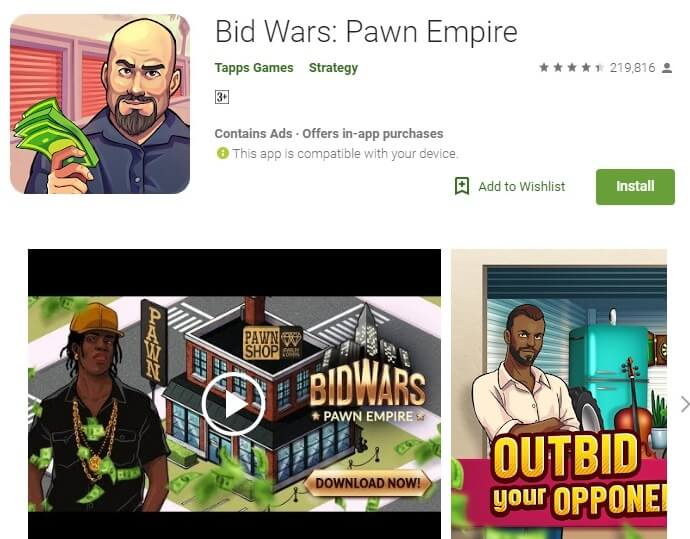 Bid Wars: Pawn Empire