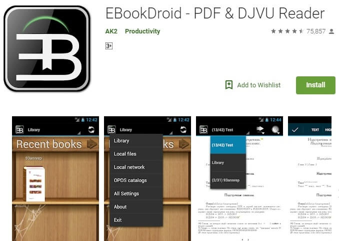 EBook Droid