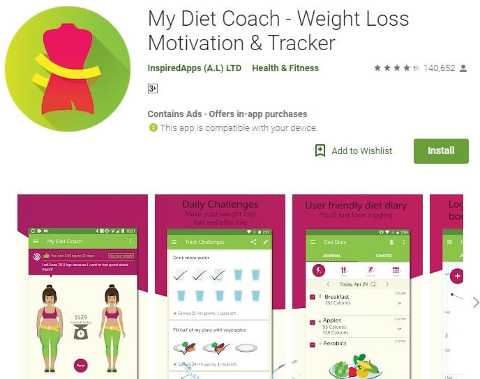 My Diet Coach- Weight Loss