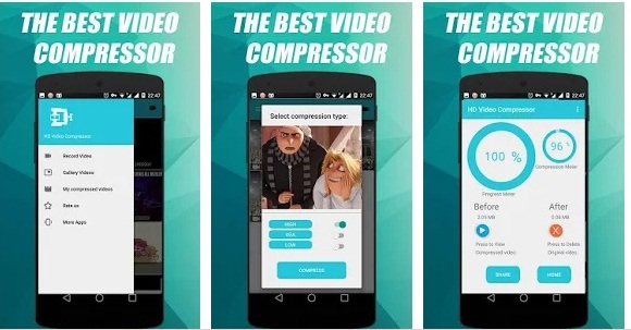 HD Video Compressor