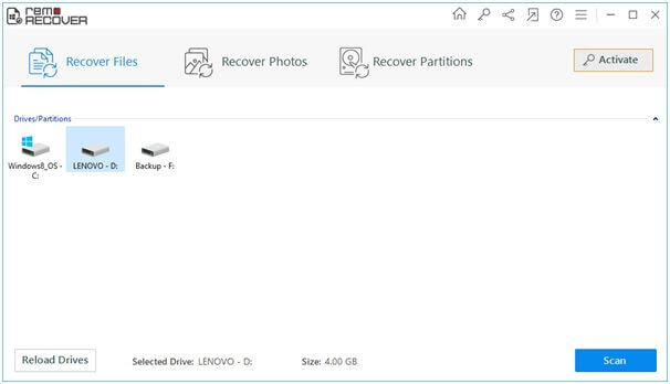 recover files Windows
